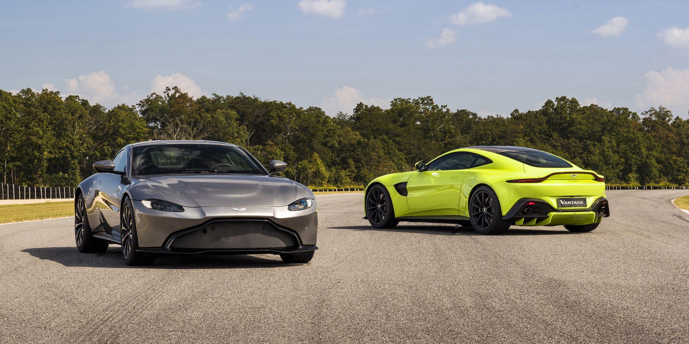 2018 Aston Martin Vantage New Aston V8 Vantage