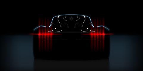 Red, Light, Vehicle, Car, Automotive design, Supercar, Automotive lighting, Reflection, Darkness, Performance car,
