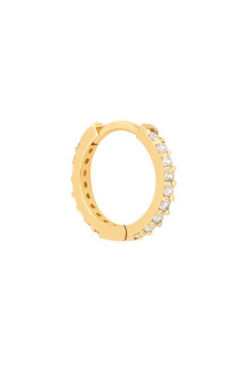 Gold jewellery - gold earrings