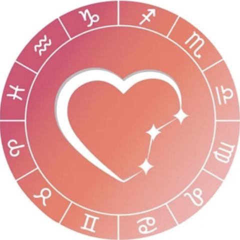 logo for an astrology dating app