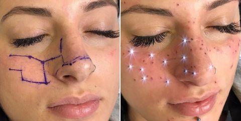 Face, Eyebrow, Cheek, Nose, Skin, Eyelash, Forehead, Lip, Chin, Head,