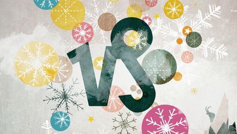 astrological sign of capricorn and winter motifs