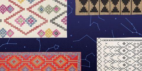 Pattern, Line, Textile, Design, Pattern, Visual arts, Font, Art, Stitch, Needlework,