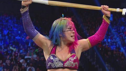 Asuka on WWE SmackDown Live