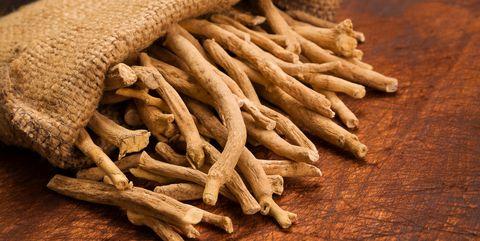aswagandha root, herbal medicine