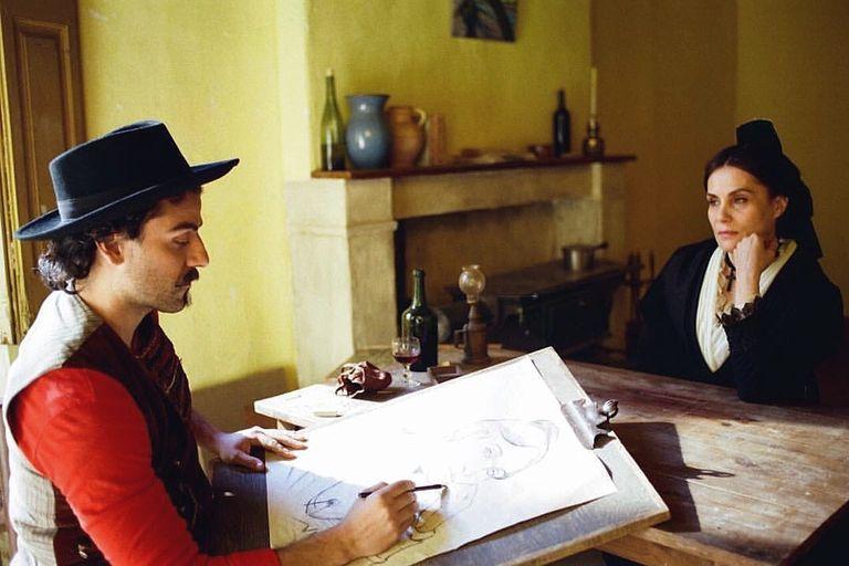 Oscar Isaac como Paul Gauguin. Crédito: CBS Films.