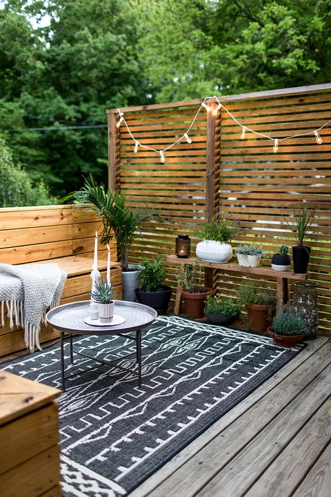 Decorating A Deck With Lights