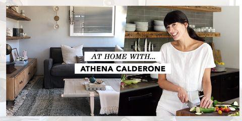 athena calderone house tour