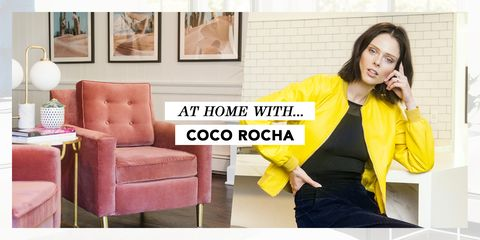coco rocha house tour