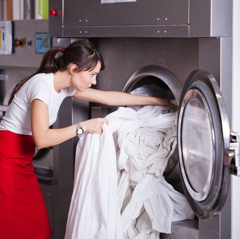 at laundry service