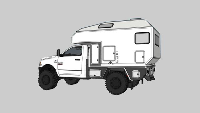 truck camper off road aterra xl