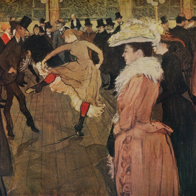 at the moulin rouge, the dance, 1890 1934 from the studio volume 107 the offices of the studio ltd, london, 1934artist henri de toulouse lautrec photo by the print collectorgetty images