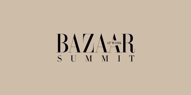 harper's bazaar at work summit