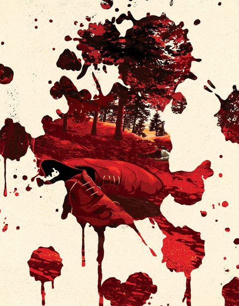 crater lake, murders