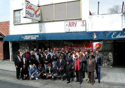 oakland, blues musicians, esther's orbit room, 2003