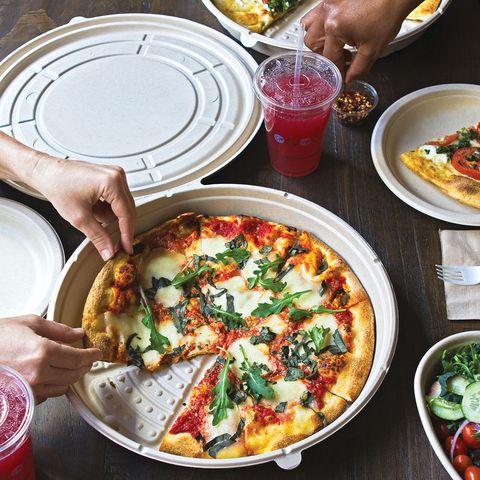 world centric round pizza box
