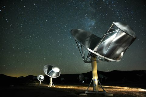 Radio telescope, Sky, Satellite, Technology, Space, Antenna, Astronomical object, Photography, Star, Astronomy,