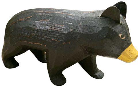 jim harrison, wooden bear
