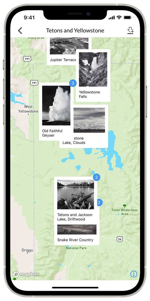 the ansel adams gallery iphone app