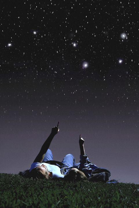 stargazing couple
