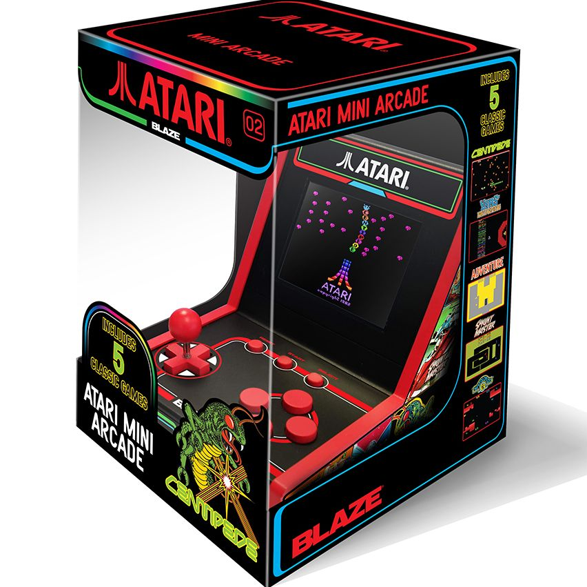 Atari releases two adorable new Mini Arcade games for 2019