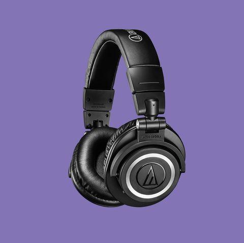 Headphones, Gadget, Audio equipment, Purple, Violet, Technology, Headset, Electronic device, Audio accessory, Ear,