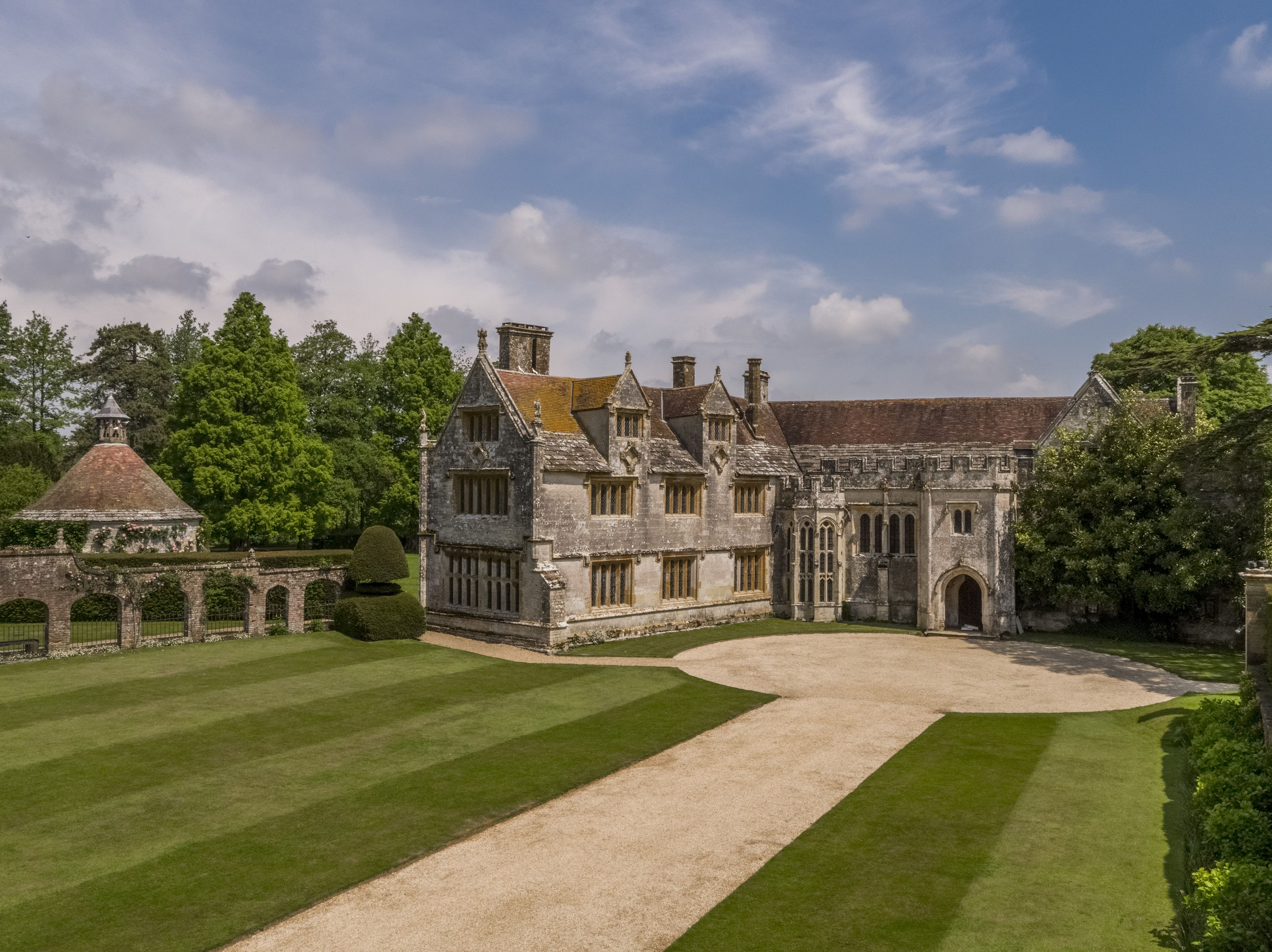 A Tudor manor house in Dorset much loved by Thomas Hardy