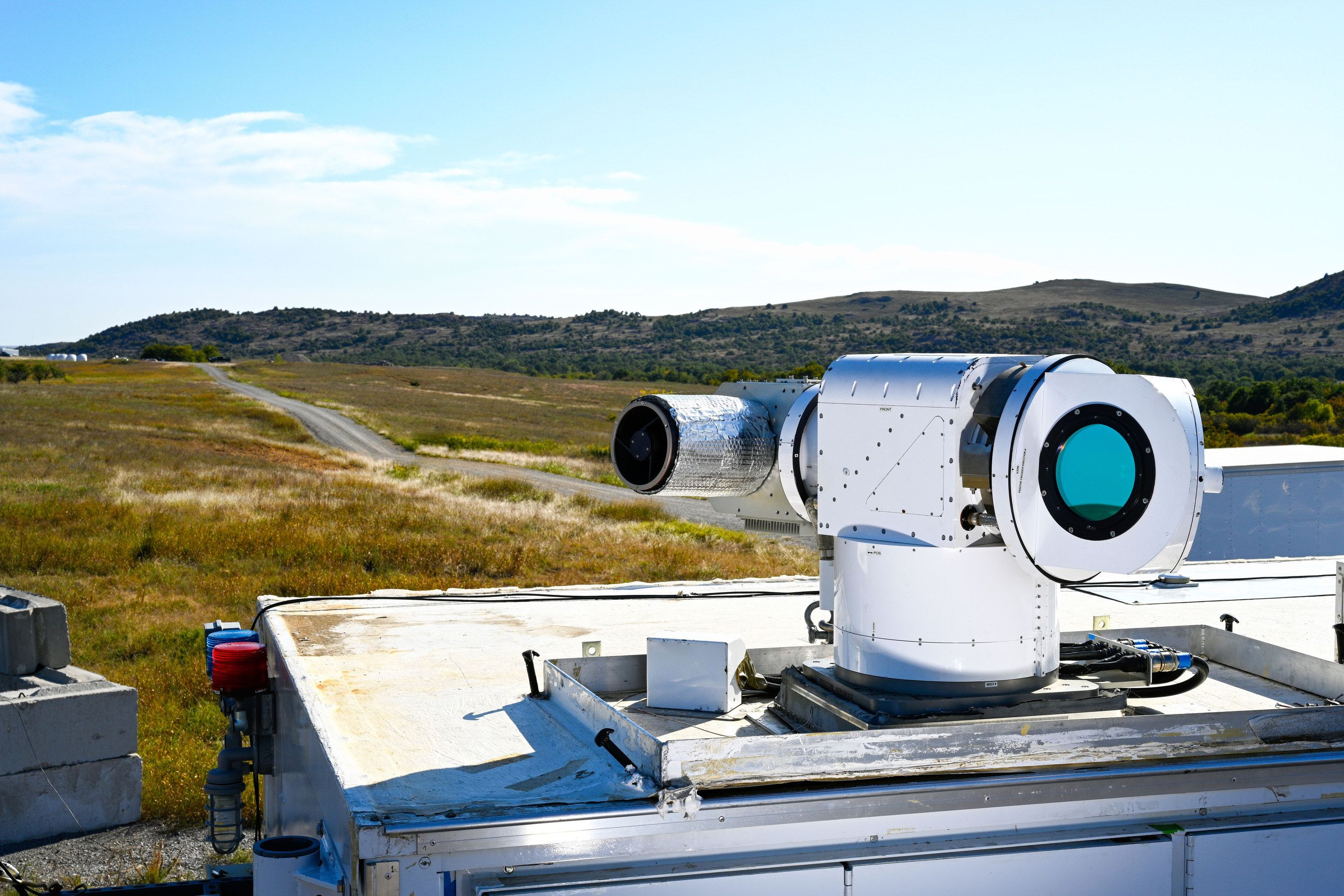 Air Force Downs Several Drones With New ATHENA Laser Weapon System