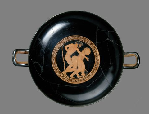 athenian red figure cup
