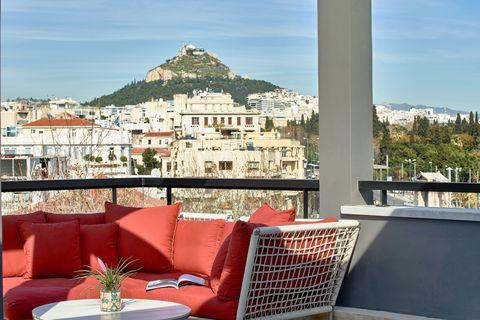 Rooftop viewAthens Greece