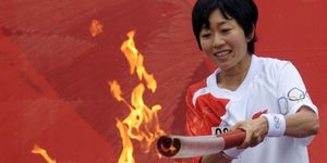 2004 Athens Olympic women's marathon gol
