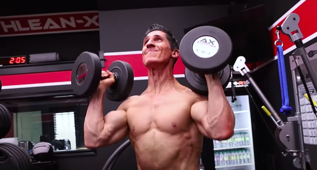 athlean x, shoulder press