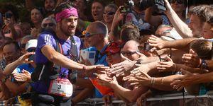 Luis Alberto Hernando en el Mundial de Trail Running