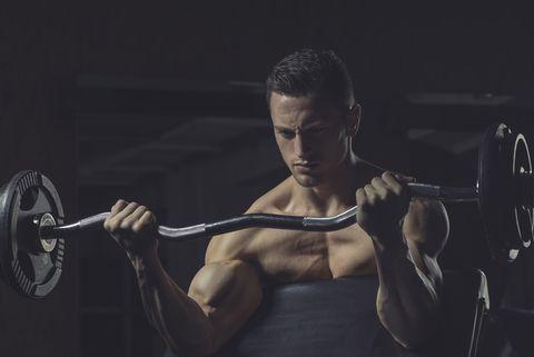 Ejercicio para entrenar los bíceps