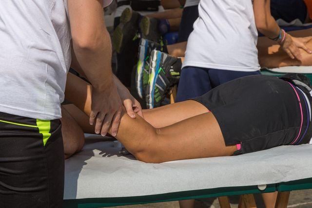 post race runner massage