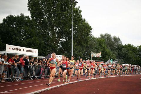 Las chicas de España, plata en la Copa de Europa de 10.000m