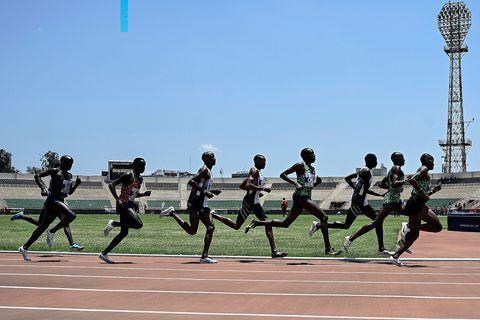 atletas, kenianos, entrenamiento