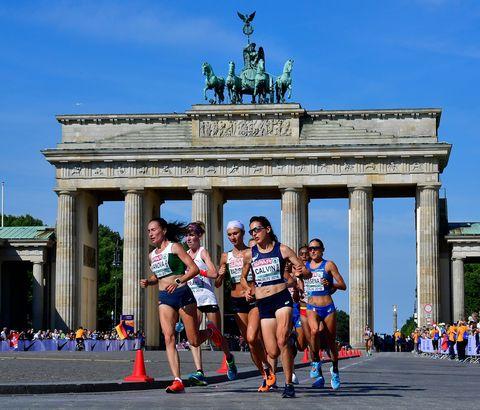 athletics euro 2018 women marathon