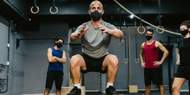 mascarillas deportivas gimnasio