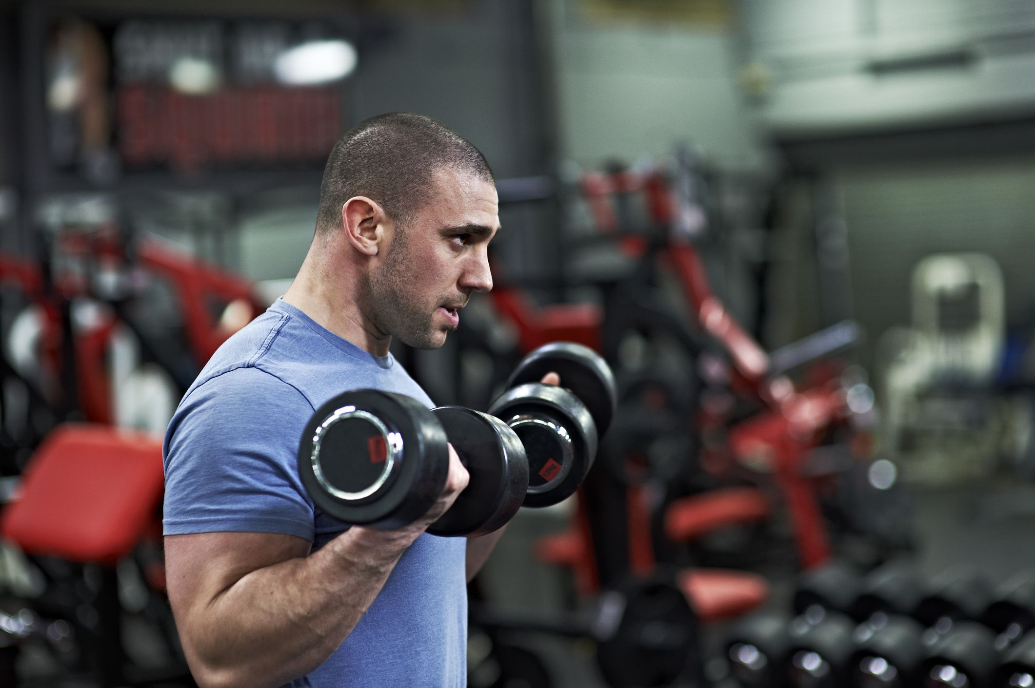 This Simple Dumbbell Workout Will Build Your Arms and Back