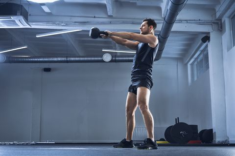 This Explosive Kettlebell Flow Builds Full-Body Power
