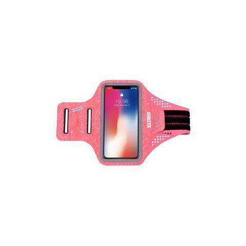 premium sportarmband universele hardloop armband hardlopen roze