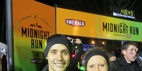 Winners of the 2013 Midnight Run in Central Park