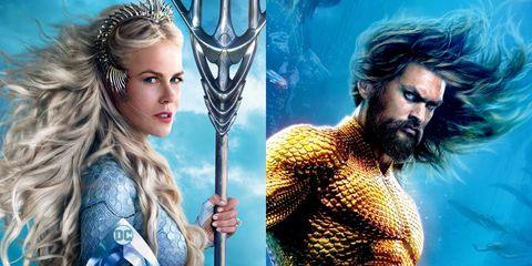 Aquaman, Fictional character, Facial hair, Cg artwork, Superhero, Beard, Mythology, Long hair, Justice league, Movie,