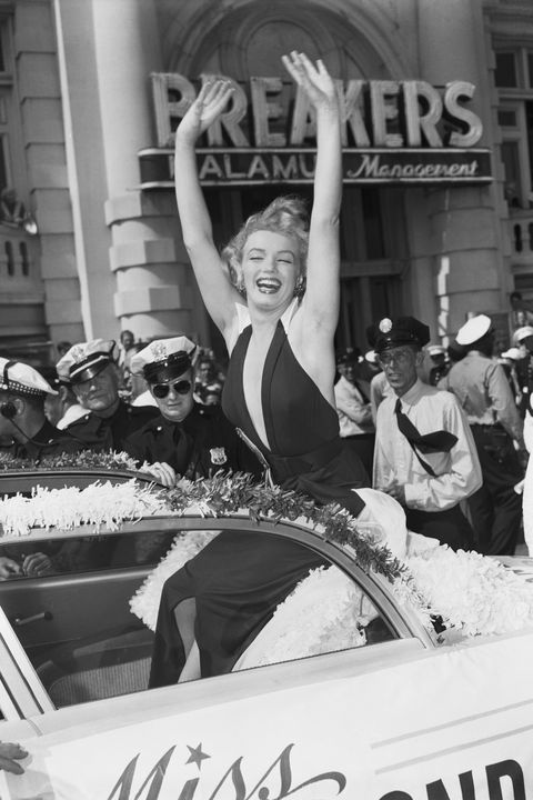 marilyn monroe in parade