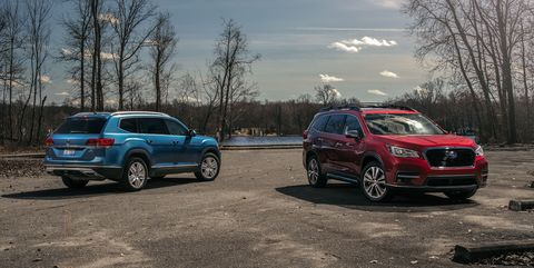 The 2019 Subaru Ascent Takes On the 2019 Volkswagen Atlas: Which Is the Better Three-Row SUV?