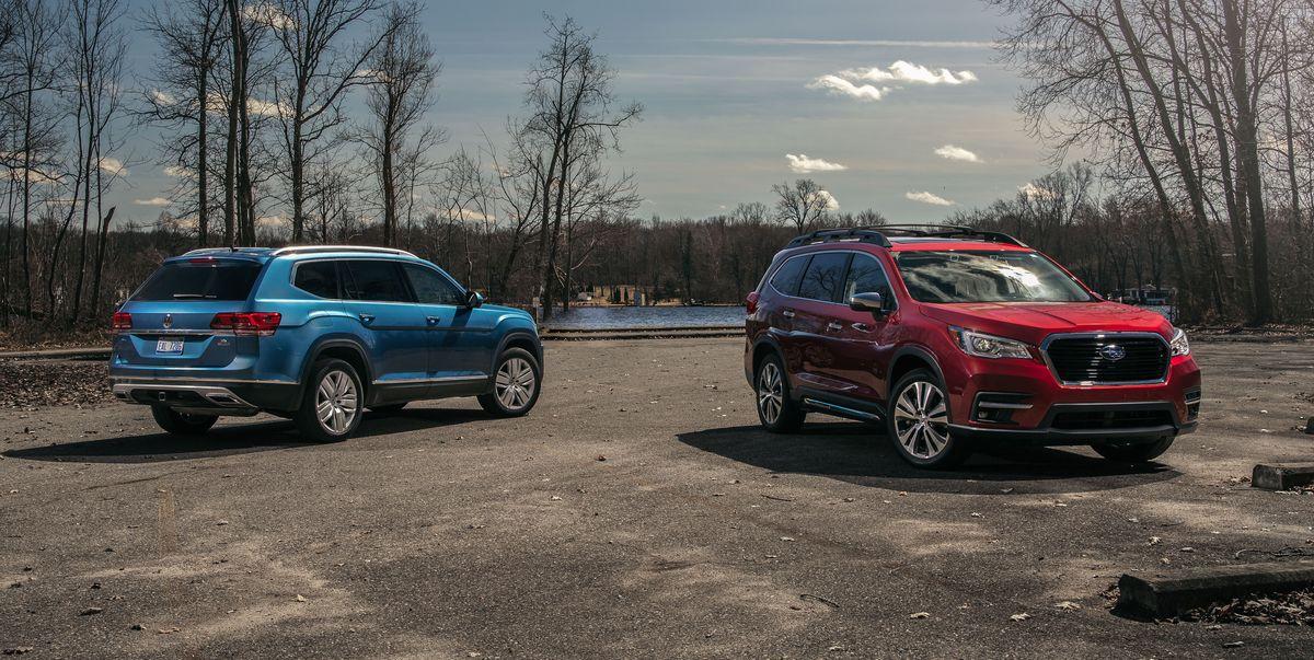 2019 Subaru Ascent vs. 2019 Volkswagen Atlas – Three-Row Face-Off