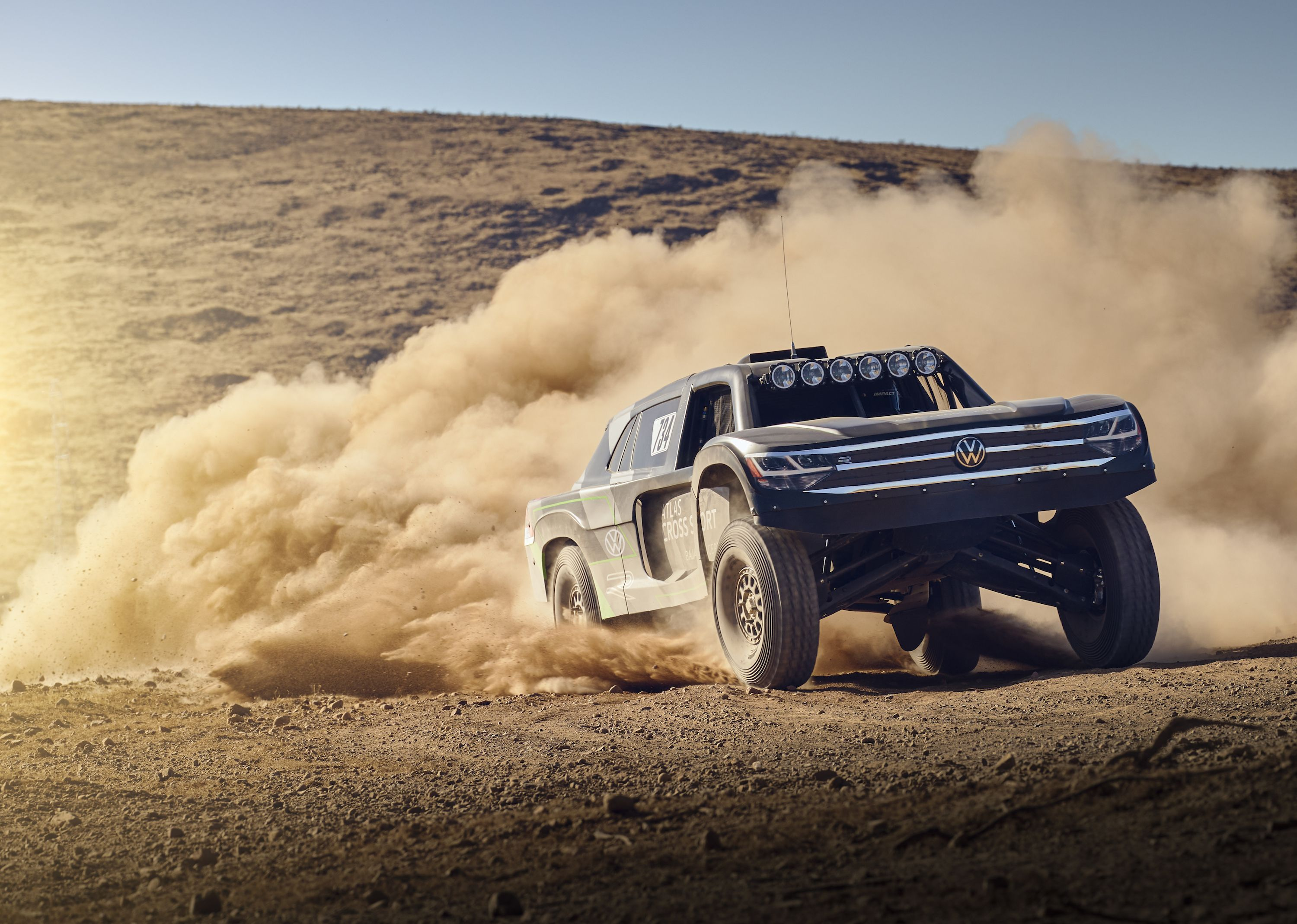 Volkswagen Is Taking This Monstrous Off-Roader to the Baja 1000