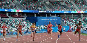 Atletismo DNA en los Juegos Europeos de Minsk