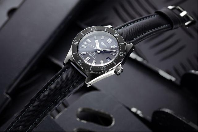 artem black straps on seiko watch